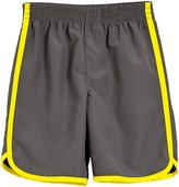 City Threads Swim Trunk (Baby) - Charcoal/Yellow - 3-6 Months