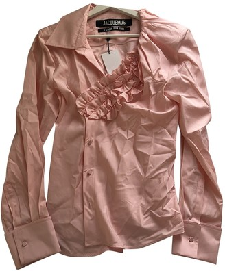 Jacquemus L'Amour d'un Gitan Pink Cotton Top for Women