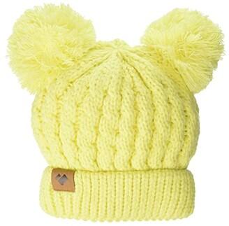Obermeyer Fayetteville Knit Double (Infant/Toddler) (Lemon Whip) Beanies