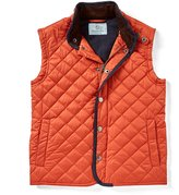 Class Club Big Boys 8-20 Quilted Corduroy-Collar Vest