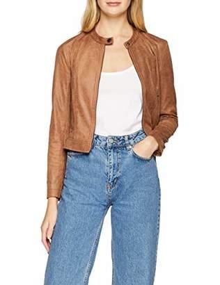 Comma Women's 81.810.54.4129 Suit Jacket, (Brown 8477)