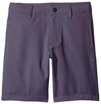Under Armour Kids Golf Medal Play Shorts (Toddler) (Black) Boy's Shorts