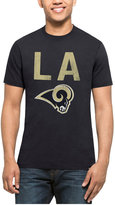 '47 Men's Los Angeles Rams City Style Splitter T-Shirt