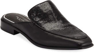 Rag & Bone Aslen Mixed Leather Loafer Mules