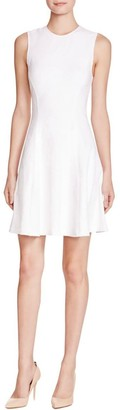 Theory Women's Tespa Breeze Knit Rose Fit & Flare Dress