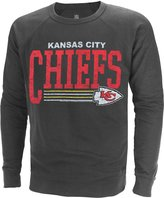 "Junk Food Clothing Kansas City Chiefs NFL Men's ""Fundamentals"" French Terry Crew Sweater"