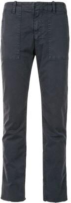 Nili Lotan Jenna twill slim-fit trousers