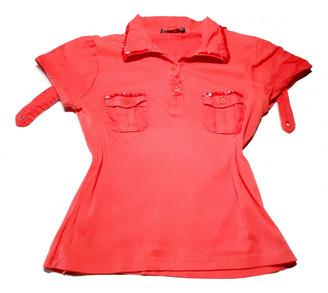 Parrot Red Cotton Tops