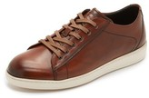To Boot Bancroft Burnished Leather Sneakers