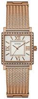 Guess Dress Analog W0826L3 Rose Goldtone Bracelet Watch