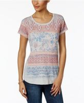 Style&Co. Style & Co Graphic-Print T-Shirt, Only at Macy's