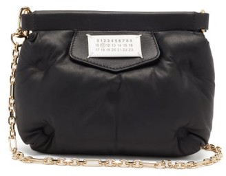 Maison Margiela Glam Slam Mini Quilted-leather Cross-body Bag - Black