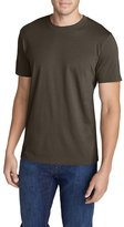 Eddie Bauer Men's Legend Wash Short-Sleeve T-Shirt - Slim Fit, Military Brown M