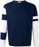 Marni boxy bi-colour t-shirt - men - Cotton - 48