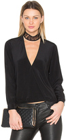 Michelle Mason Choker Blouse in Black. - size 2 (also in 4)