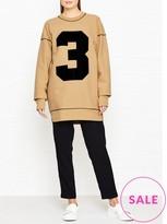 Joseph Oversized Number Sweatshirt