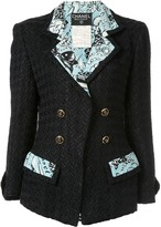 Chanel Pre Owned CC setup suit jacket skirt