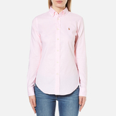 Polo Ralph Lauren Women's Kendal Oxford Shirt Light Rose