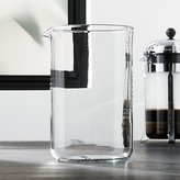 Crate & Barrel Bodum ® Chambord French Press 51 Ounce Replacement Carafe