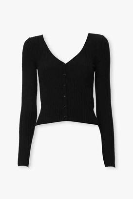 Forever 21 Ribbed Knit Cardigan
