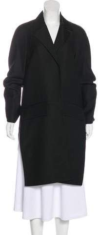 Celine Wool Knee-Length Coat
