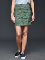 Gap Eyelet row mini skirt