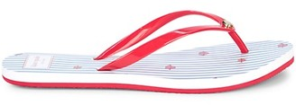 Kate Spade Nassau Striped Flip Flops