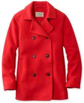 L.L. Bean Bean's Fleece Peacoat