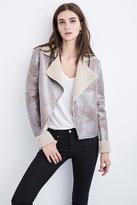 Jemima Reversible Metallic Sherpa Jacket