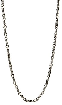 John Varvatos Collection Sterling Silver Artisan Metals Chain Link Necklace, 24