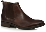 Base London Brown Leather Chelsea Boots