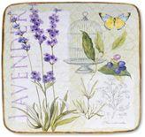 Certified International Herb Garden 14.5-in. Square Serving Platter