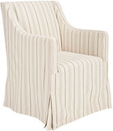 Safavieh Suzie Linen Slipcover Chair, Cream