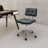 Bronx Mazelina Task Chair Ivy Upholstery Color: Black
