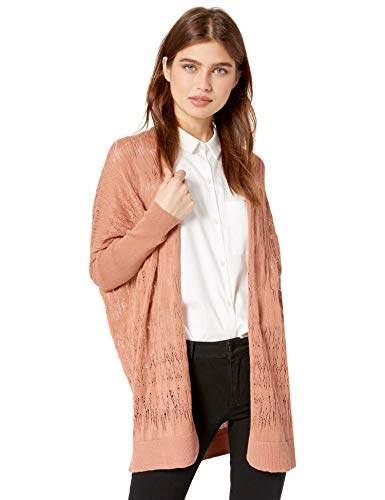c59ce2fb2e3 Cable Stitch Women's Oversized Lightweight Cardigan Sweater