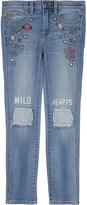 Juicy Couture Wild Hearts cotton jeans 4-14 years