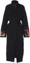 Martin Grant Embroidered Kimono Dress