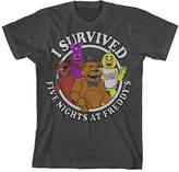 Bioworld Five Nights at Freddy's 'I Survived' Tee - Boys