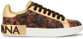Dolce & Gabbana tortoiseshell low-top sneakers