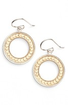 Anna Beck Women's Open Circle Drop Earrings
