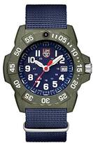 Luminox Men's 'SEA' Swiss Quartz Stainless Steel and Nylon Casual Watch, Color:Blue (Model: 3503.ND)