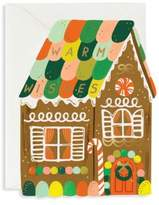 Rifle Paper Co. Gingerbread House Greeting Card