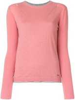 Woolrich fitted knitted top - women - Silk/Polyamide/Viscose/Wool - S