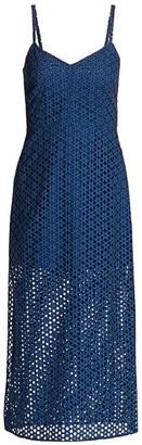 Rachel Comey Agitator Spaghetti Strap Midi Dress