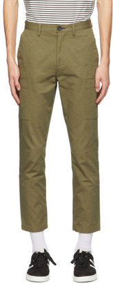 Paul Smith Green Cotton Cargo Pants
