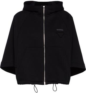 Prada Fleece Blouson Jacket