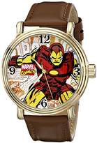 Marvel Men's W001765 The Avengers Iron Man Analog-Quartz Watch