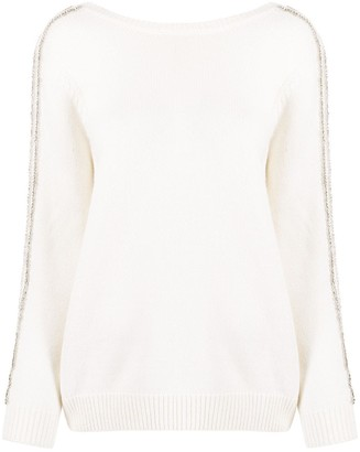 BA&SH Delhia beaded jumper