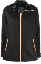 Duvetica hooded zipped jacket