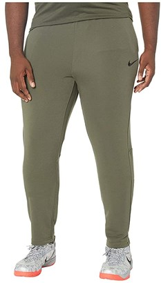 Nike Big Tall Dry Pants Regular Fleece (Cargo Khaki/Black) Men's Casual Pants